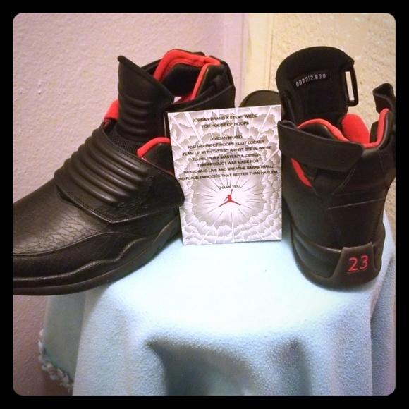 8648e6e36eb5ed Nike STEVE WIEBE X JORDAN Generation 23 HOH sz 10